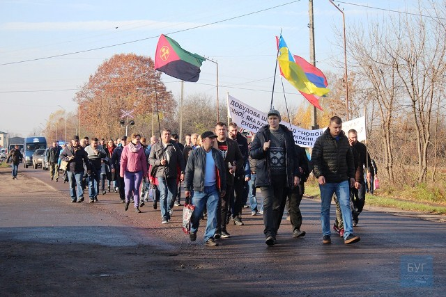 Колектив шахти № 10 «Нововолинська» влаштував протестну акцію