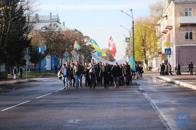Колектив шахти № 10 «Нововолинська» влаштував протестну акцію фото 2