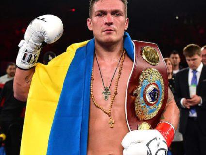 Усик стане найкращим боксером року?