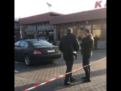 «Дев'яності повертаються»: відео з місця «авторитетної» стрілянини в Луцьку (18+)