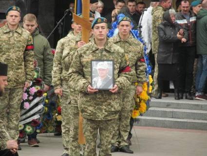 Волинь попрощалася із загиблим у російсько-українській війні Максимом Пасичнюком (фото)