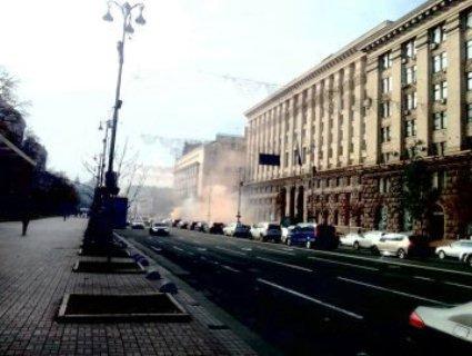 Люди готові палити машини: у Києві протестують власники євроблях (фото)