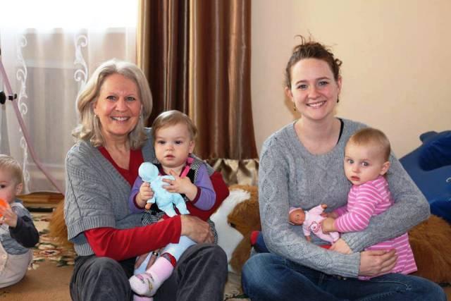 Ронда Блессінг з донькою