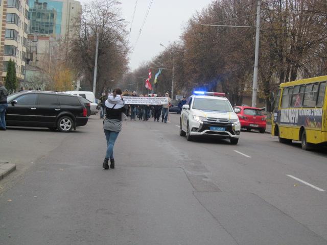 Мітинг гірників шахти № 10 Нововолинська у Луцьку фото 19