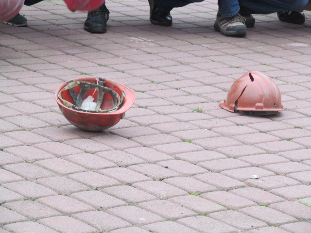 Мітинг гірників шахти № 10 Нововолинська у Луцьку фото 26