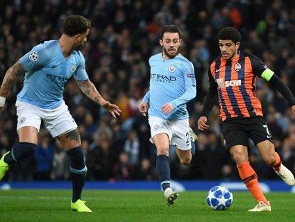 Розгромний матч: Манчестер Сіті - Шахтар 6-0 (відео голів)