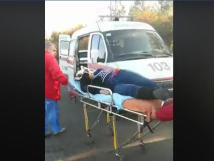 На Одещині впала в кому дівчина, яка вивалилася крізь двері автобуса (відео)