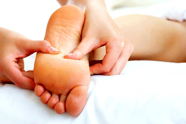 Активізація точок на стопах ніг