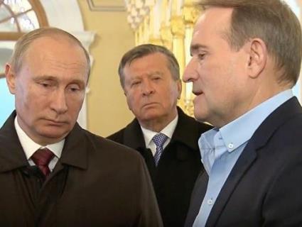 Медведчук злітав до Путіна: на поклін до кремівського карлика і по інструкції
