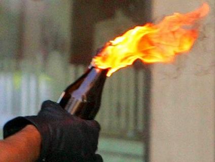 У Львові підпалили два російські банки