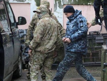 Полонених українських моряків вивезли з окупованого Криму