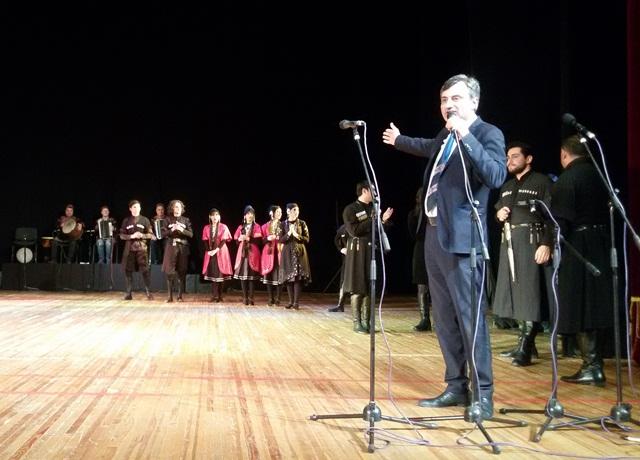Виступ грузинського ансамблю пісні і танцю «Горі» у Луцьку фото 8