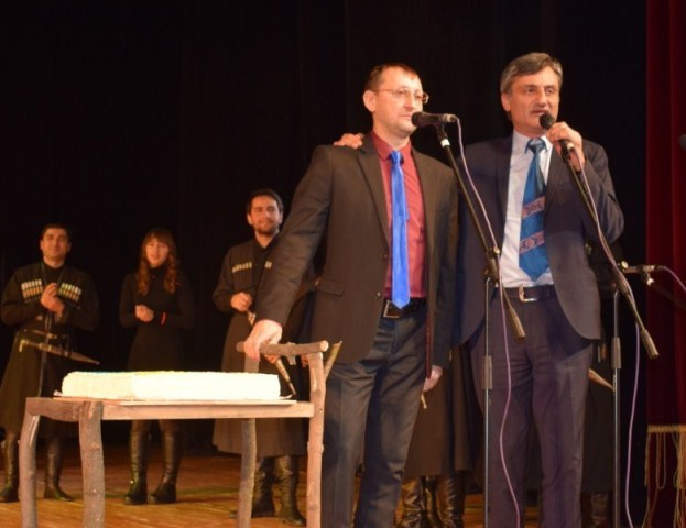 Виступ грузинського ансамблю пісні і танцю «Горі» у Луцьку фото 10