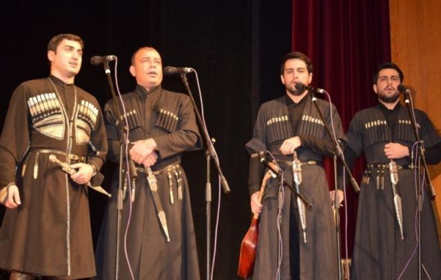 Виступ грузинського ансамблю пісні і танцю «Горі» у Луцьку