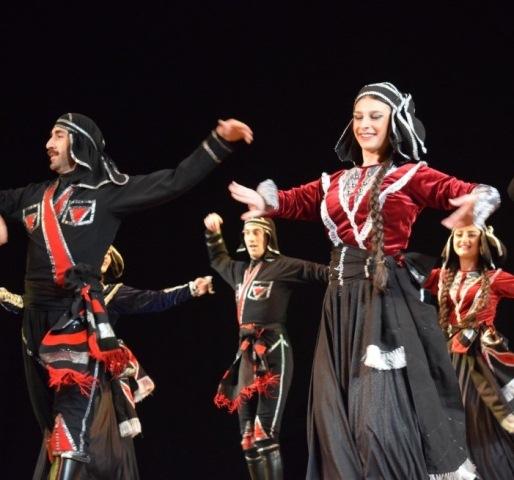 Виступ грузинського ансамблю пісні і танцю «Горі» у Луцьку фото 1