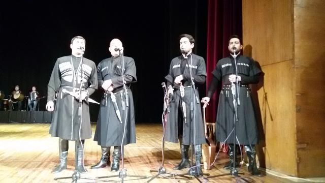 Виступ грузинського ансамблю пісні і танцю «Горі» у Луцьку фото 3