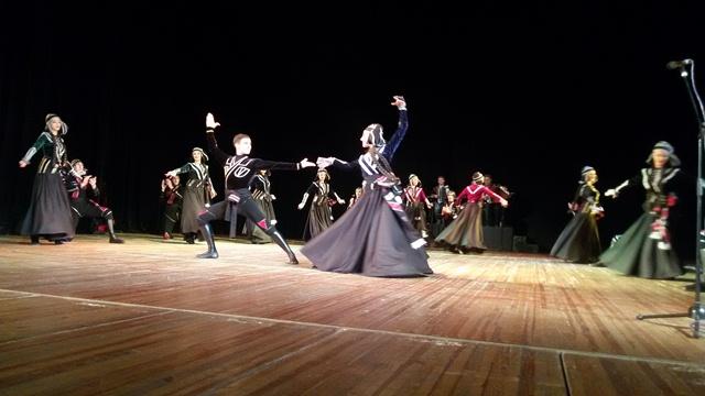 Виступ грузинського ансамблю пісні і танцю «Горі» у Луцьку фото 5