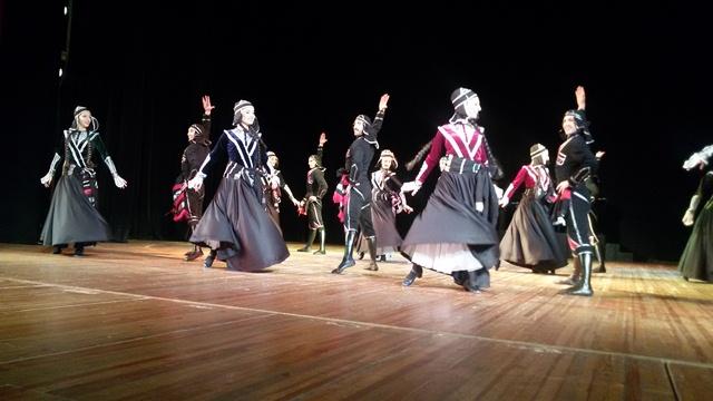 Виступ грузинського ансамблю пісні і танцю «Горі» у Луцьку фото 6
