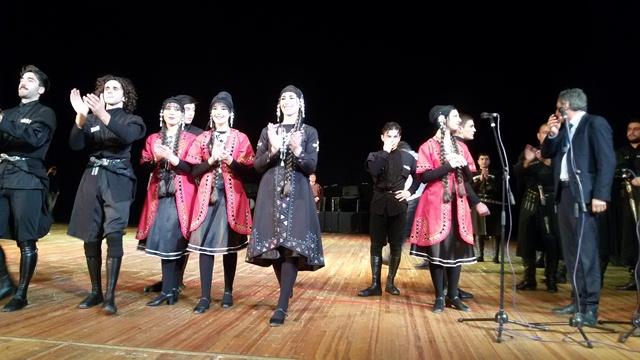 Виступ грузинського ансамблю пісні і танцю «Горі» у Луцьку фото 7