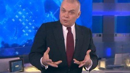 Заграє з молоддю: пропагандист Кисельов «читнув репчик» у прямому ефірі РашаТБ