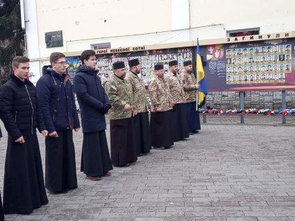 у луцьку молилися військові капелани