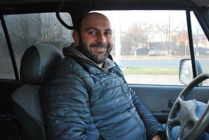 Юрій Букія, санітар-розвідник батальйону «Колос» 51-ї механізованої бригади.