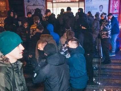 У Києві намагалися захопити торговий центр