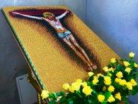 Образ Ісуса створив із тисяч сірників