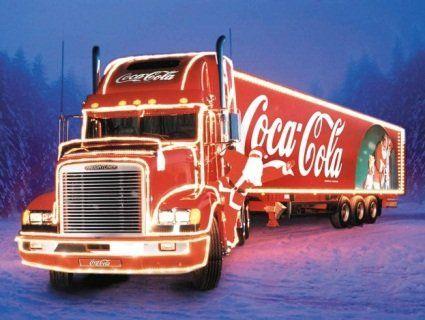 Новорічна вантажівка Coca-Cola завітає до Луцька