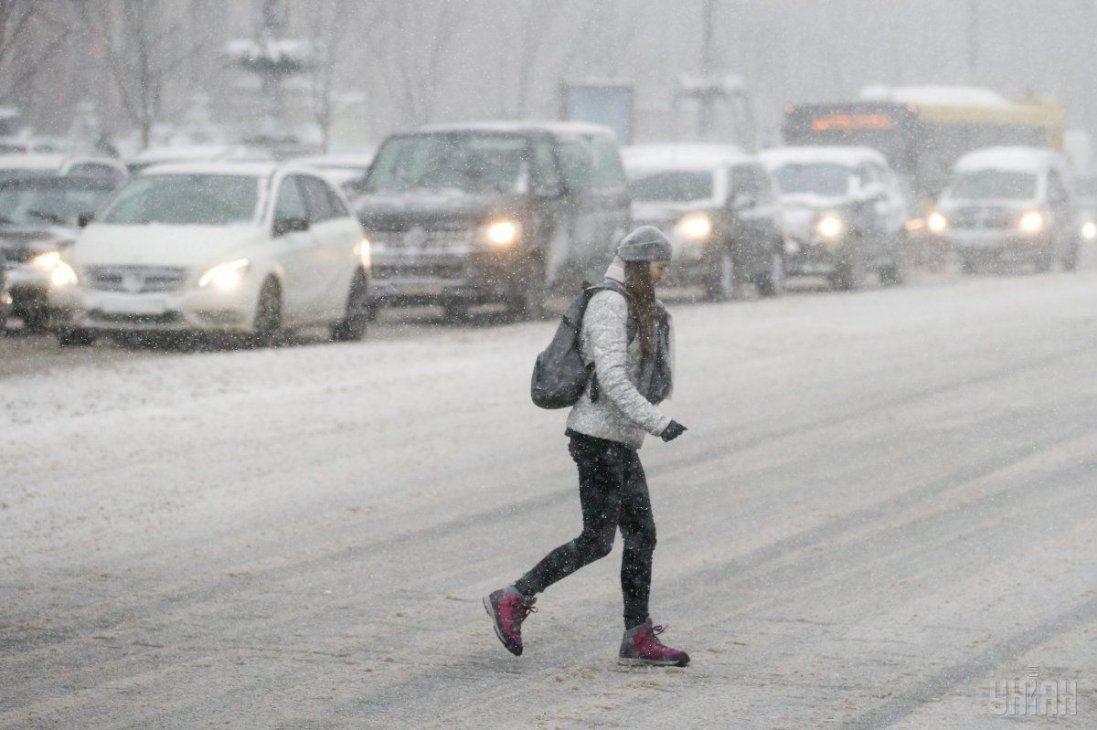 До 10 см снігу: на Волинь наступають снігопади