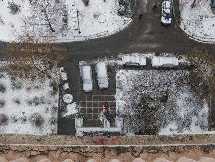 В Києві молодий атовець викинувся із 14-го поверху (фото, відео 21+)