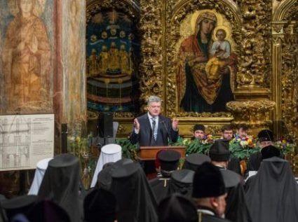 «Прощавай, немита Росія»:  Порошенко розгнівав російську православну церкву (фото, відео)