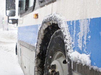 На Волині 7 автобусів не виїхали на рейс