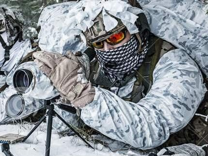 На кордоні з Україною помітили чеченський снайперський підрозділ