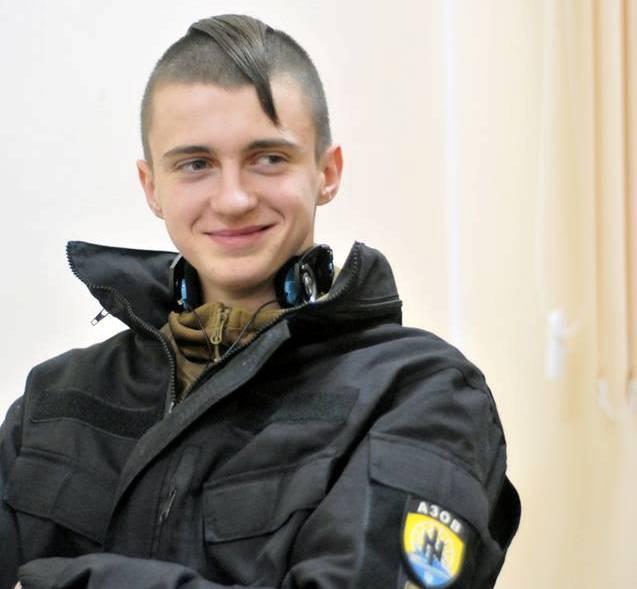 Боєць батальйону «Азов» львів'янин Ігор Галушка фото 2