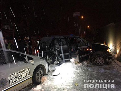 Погоня у Рівному: поліцейські годину не могли упіймати водія-порушника (ВІДЕО, ФОТО)