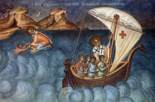Микола покровитель моряків