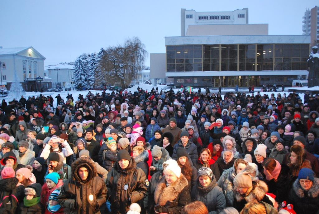 зимові свята в Луцьку