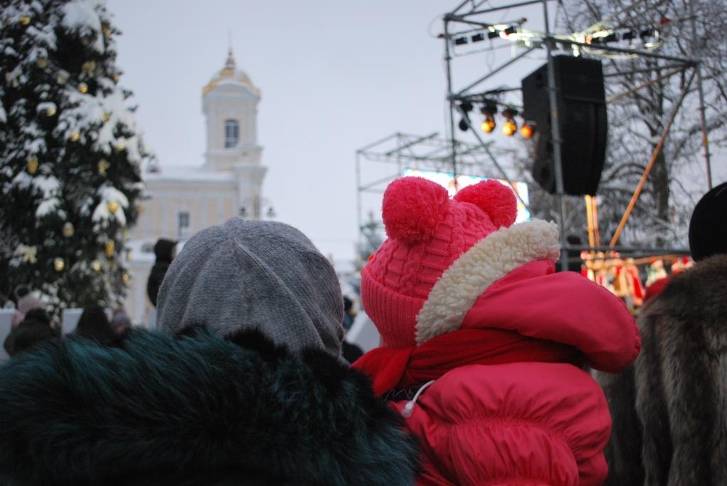 свято Миколая в Луцьку