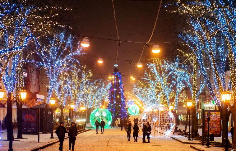 Одеса, Новий рік