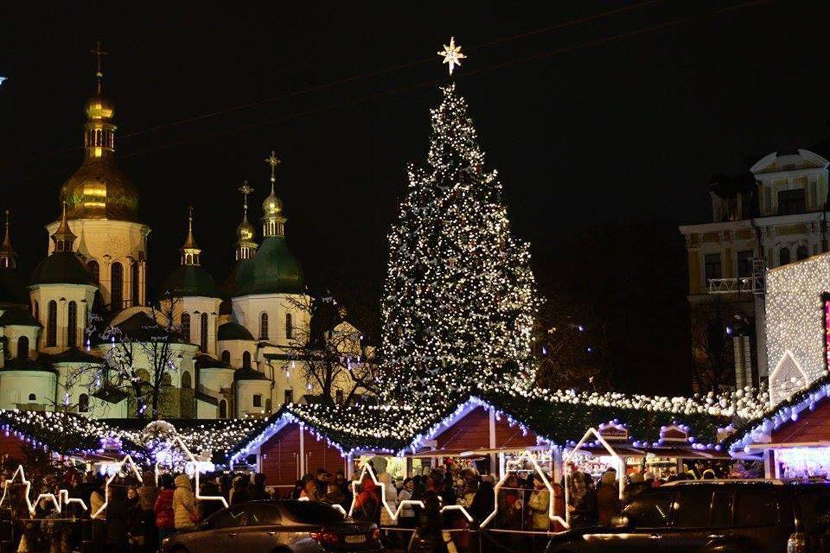 Київ, Новий рік