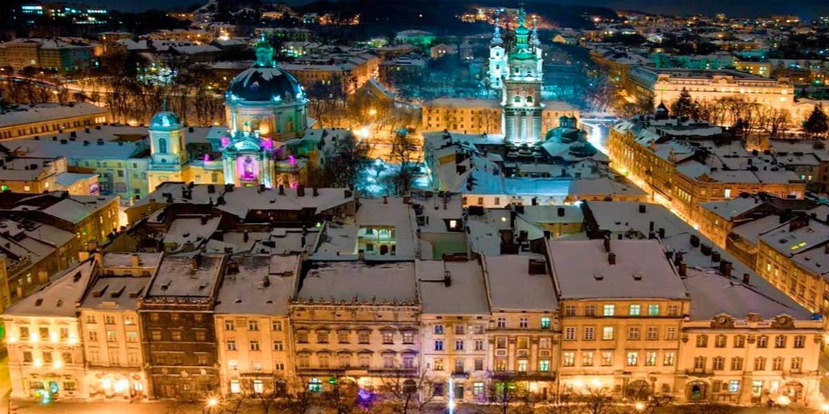 Новий рік, Львів