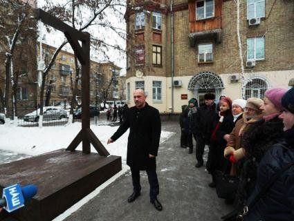 У Києві встановили шибеницю, щоб «вішати корупціонерів»