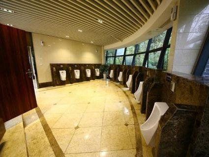 В Китаї відкрили п'ятизіркову громадську вбиральню з прозорою стіною (фото)