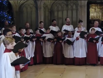 У Віндзорському замку, де вінчались всі нащадки Єлизавети ІІ, виконали «Щедрик» (відео)