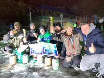 Волинські риболови-спортсмени вибороли призові місця на змаганнях в Тернополі