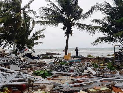 Цунамі в Індонезії забрало пів тисячі душ