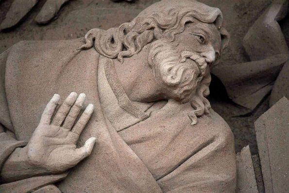У Ватикані створили велетенський вертеп із 700 тонн піску