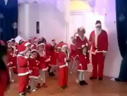В Казахстані на новорічному ранку в садочку зчинилася паніка через петарди (фото, відео)