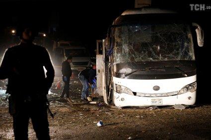 У Єгипті підірвали туристичний автобус